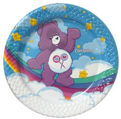 Care Bears Rainbow Large Paper Plates