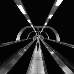 Ran Beneli Geometric Photography, Urban Photography, Digital Photography, Street Photography, Landscape Photography, Fashion Photography, Black White Photos, Black And White Photography, Black Space