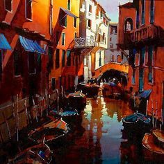 Mood Of  Venice by Michael O'Toole (Canadian)