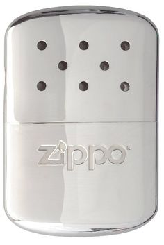 Zippo A-Frame Chrome Hand Warmer, Silver:Amazon:Sports & Outdoors