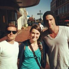 """Catching up with the stars of """"Catching Fire!"""" http://www.discoverlakelanier.com"""