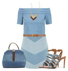 """""""Untitled #2518"""" by mrsdarlene on Polyvore featuring 3x1, WYLDR, Aquazzura and Dorothy Perkins"""