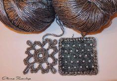 Эффектные сочетания ажурного вязания с тканью в одежде