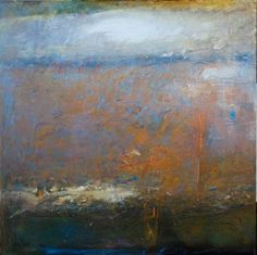 Gordon Brown, Warm and Cool oil on board Contemporary Landscape, Abstract Landscape, Landscape Paintings, Abstract Art, Gordon Brown, It Works, Oil, Warm, Cool Stuff