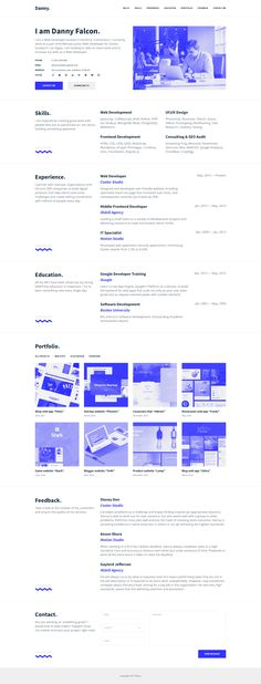 Check out new work on my @Behance portfolio  - html resume