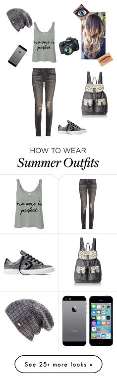 """Untitled #217"" by drostan on Polyvore featuring R13, Converse, T-shirt & Jeans, Spacecraft and Eos"
