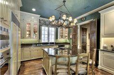 Arredamento in stile provenzale - La cucina nella casa provenzale