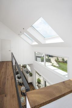 Haus Weber Haus Are You Ready To Be A Father? Home Interior Design, Interior And Exterior, Roof Light, House Extensions, My Dream Home, Home And Living, Living Rooms, Interior Architecture, Stairs Architecture