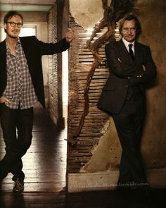 Gary Oldman and David Thewlis - I've never wanted to be a plaster wall so bad in my life.