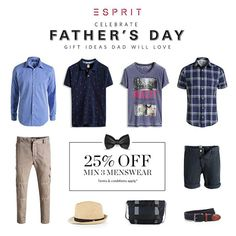 15-21 Jun 2015: Esprit Fathers Day Promotions