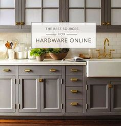 Stunning Hardware For Kitchen Cabinets with 25 Best Ideas About Gold Kitchen Hardware On Pinterest Gold - If you intend to buy furniture for your home, it' #9864