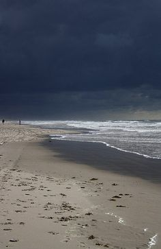 Schoorl, the Netherlands...the north sea before a storm