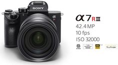 Sony a7r III camera & FE 24-105mm f/4 G OSS lens now available for pre-order | Photo Rumors