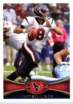 "Matt Schaub Houston Texans Jersey Custom 6/"" Mcfarlane Figure"