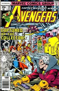 #MARVEL COMICS GROUP [] EARTH'S MIGHTIES HEROES []  #AVENGERS [] [] http://marvel.wikia.com/wiki/Avengers_Vol_1_174 []