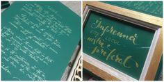 Wedding details.  Instagram @annecreeaza Chalkboard Quotes, Wedding Details, Art Quotes, Weddings, Instagram, Wedding, Marriage