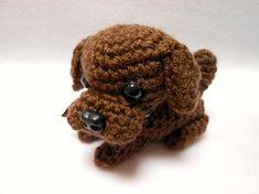 Small Chocolate Labrador Retriever Dog by KatesCache on Etsy, $12.00