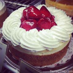 Fresh Strawberry Cheesecake - http://www.tastedthis.com/2013/03/17/fresh-strawberry-cheesecake/
