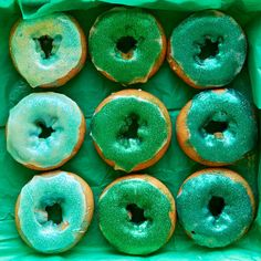 If you could actually go to the Emerald City, you'd find doughnuts like this there.