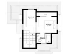 Smallworks Custom Small Homes & Laneway Houses in Vancouver | Design and Floor Plan for Cypress - 33/44 Lane House