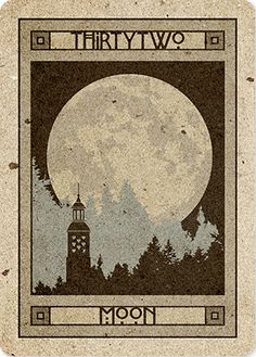 Moon - CHELSEA LENORMAND  http://www.malpertuis.co.uk/site/chelsea-lenormand.html