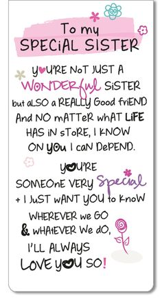 Special Sister Inspired Words Magnetic Bookmark Sentimental Gift Range & Garden - Special Sister Inspired W Happy Birthday Wishes Sister, Friend Birthday Quotes, Birthday Wishes Funny, Happy Birthday Quotes, Younger Sister Birthday Quotes, Birthday Poems, Birthday Caption For Sister, Sister Birthday Quotes Funny, Little Sister Birthday