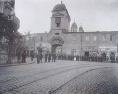 Hanul Zlătari înainte de demolare Bucharest, Old City, Time Travel, Romania, Taj Mahal, Traveling, Street View, Europe, Houses