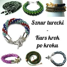 Koraliki tudzież: sznur turecki - kurs krok po kroku (Weraph)