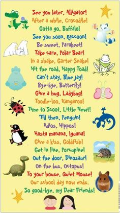 Cute sayings for kids