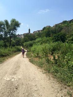 74ème étape Sutri à Campagnano
