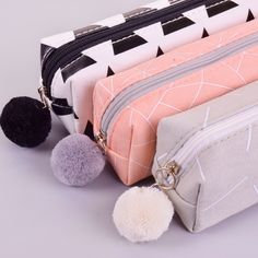 NEW Pencil Case Stationery Office & School Supplies Makeup Bags Kids Xmas Gift Stationary School, Cute Stationary, School Stationery, School Pencil Case, Cute Pencil Case, Cute Pencil Pouches, Pencil Bags, Pencil Cases For Girls, School Suplies