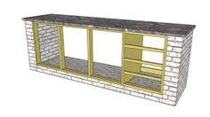 Resultado de imagem para Modelo de armario em alvenaria