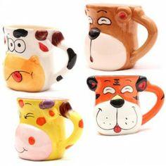 #Cana Animal Face Animal Faces, Mugs, Art, Tumblers, Mug, Cups