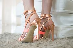 Shoe in Review: Rupert Sanderson's Deliciously Strappy Tallyho Sandals! - ShoeRazzi