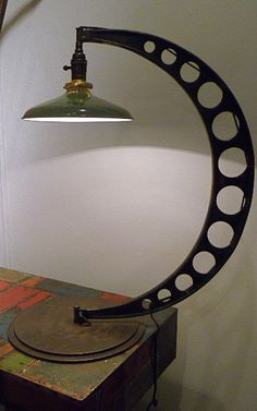 Vintage Industrial Lamp from France
