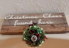 Hang mistletoe in your house this Christmas for some Christmas Cheer Christmas Makes, Merry Little Christmas, Christmas Wood, Christmas Pictures, Christmas Wedding, Christmas Holidays, Christmas Wreaths, Christmas Crafts, Christmas Decorations