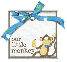 Goin' bananas — Yandex.Disk Little Monkeys, Yandex Disk, Bananas, Banana, Fanny Pack