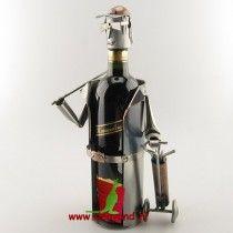 Golf wijnfleshouder