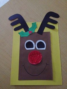 I thought I would share a few of my co-workers cute Christmas crafts and maybe you can find an idea for your classroom next week!