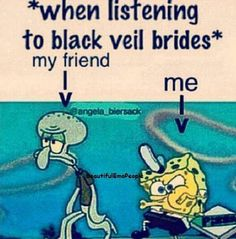 "My friend Rebecca likes bvb and at my house we were singing "" we scream we shout we are the fallen angles"