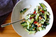 cucumber yogurt raita salad | smittenkitchen.com