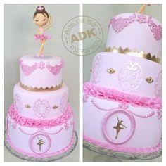 Ballet cake - Bolo Bailarina