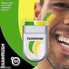 FANBRUSH FLAG FACE & BODY PAINT AUSTRALIA OZ SOCCEROOS AUSSIE GREEN & GOLD