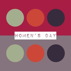 Today is Women's Equality Day! Beyond equality for women, we have to remember that equality for all is important. This palette is inspired by the equal strength and softness we find in some of the best women.