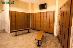 Creative Surfaces manufactures and installs gym lockers, club lockers, employee lockers, and VIP lockers of various sizes and designs all over the country. Employee Lockers, Gym Lockers, Bathroom Partitions, Smoothie Bar, Pool Bathroom, Flat Shapes, Pool Bar, Changing Room, Commercial Design