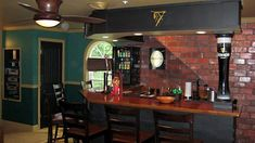 Irish Home Bar Design Sketch by Love irish Pubs....Love Irish Pubs ...