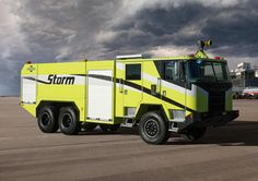 Oshkosh Debuts Storm Aircraft Rescue and Firefighting Vehicle ★。☆。JpM ENTERTAINMENT ☆。★。