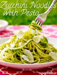 """This no-carb """"pasta"""" captures the best of summer with fresh produce and amazing…"""
