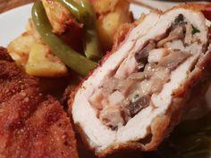 Töltött gombás borda, annyira finom lett, mintha egy mesterszakács készítette volna! - Bidista.com - A TippLista! Cheesesteak, Baking, Ethnic Recipes, Food, Bakken, Essen, Meals, Backen, Yemek