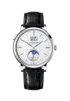 Showing at WatchTime New York 2016: A. Lange & Söhne Saxonia Moon Phase